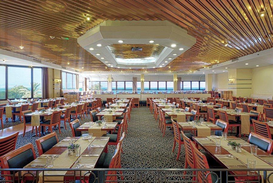 Caesar Tiberias Hotel - dining room