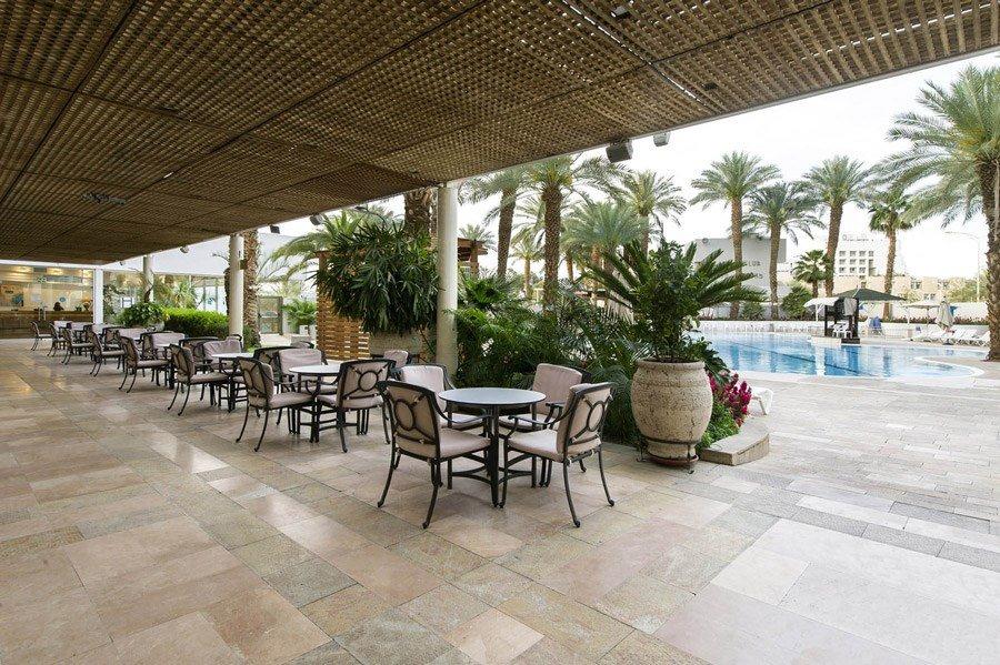 Caesar Eilat Hotel - poolside